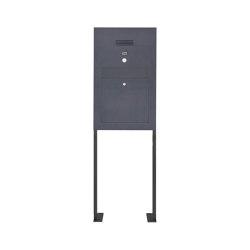 Designer | Edelstahl Standbriefkasten Designer Modell BIG ST-P - Clean Edition - RAL nach Wahl - INDIVIDUELL | Mailboxes | Briefkasten Manufaktur