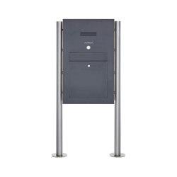 Designer | Edelstahl Standbriefkasten Designer Modell BIG ST-R - Clean Edition - RAL nach Wahl - INDIVIDUELL | Mailboxes | Briefkasten Manufaktur