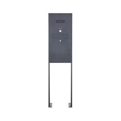 Designer | Edelstahl Standbriefkasten Designer Modell ST-P - Clean Edition - RAL nach Wahl - INDIVIDUELL | Mailboxes | Briefkasten Manufaktur