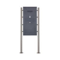 Designer | Edelstahl Standbriefkasten Designer Modell ST-R - Clean Edition - RAL nach Wahl - INDIVIDUELL | Mailboxes | Briefkasten Manufaktur