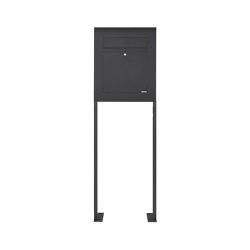 Designer | Edelstahl Standbriefkasten DESIGNER Style BIG ST-P pulverbeschichtet | Mailboxes | Briefkasten Manufaktur