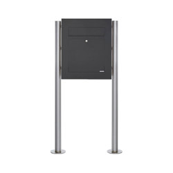 Designer | Edelstahl Standbriefkasten DESIGNER Style BIG ST-R pulverbeschichtet | Mailboxes | Briefkasten Manufaktur