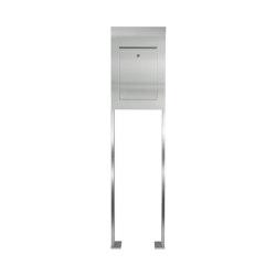 Designer | Edelstahl Standbriefkasten DESIGNER Style ST-P | Mailboxes | Briefkasten Manufaktur