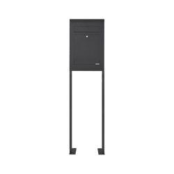 Designer | Edelstahl Standbriefkasten DESIGNER Style ST-P pulverbeschichtet | Mailboxes | Briefkasten Manufaktur