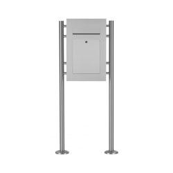 Designer | Edelstahl Standbriefkasten DESIGNER Style ST-R | Mailboxes | Briefkasten Manufaktur