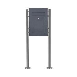 Designer | Edelstahl Standbriefkasten DESIGNER Style ST-R pulverbeschichtet | Mailboxes | Briefkasten Manufaktur