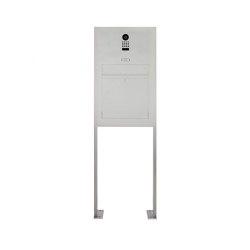 Designer | Edelstahl Standbriefkasten Modell BIG ST-P mit DoorBird Video- Sprechanlage | Mailboxes | Briefkasten Manufaktur
