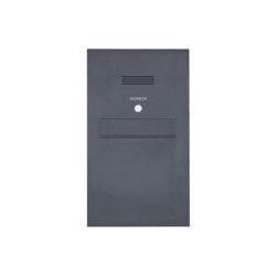 Designer | Edelstahl Zaunbriefkasten Designer Modell BIG - Clean Edition - RAL nach Wahl - INDIVIDUELL | Mailboxes | Briefkasten Manufaktur