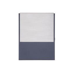 Kant | Design Briefkasten KANT mit innenliegendem Zeitungsfach - Edelstahl-RAL 7016 anthrazitgrau | Mailboxes | Briefkasten Manufaktur