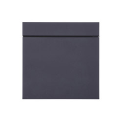 Lessing | Design Briefkasten LESSING BIG - RAL 7021 schwarzgrau | Mailboxes | Briefkasten Manufaktur