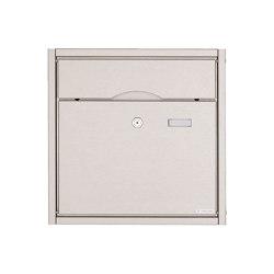 Premium | Aufputz Briefkasten PREMIUM BIG AP aus Edelstahl gebürstet | Mailboxes | Briefkasten Manufaktur