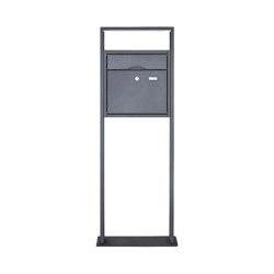 Premium | Design Standbriefkasten PREMIUM BIG LIBERTE pulverbeschichtet in RAL nach Wahl | Mailboxes | Briefkasten Manufaktur