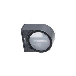 Premium | LED Wandstrahler - Wandleuchte PREMIUM aus Aluminium - RAL 7016 Anthrazitgrau | Outdoor wall lights | Briefkasten Manufaktur