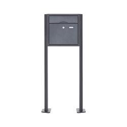 Premium | Standbriefkasten PREMIUM BIG ST-T pulverbeschichtet in RAL nach Wahl RAL 7016 anthrazitgrau feinstruktur matt | Mailboxes | Briefkasten Manufaktur