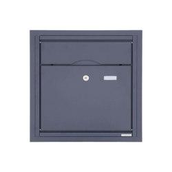 Premium | Unterputzbriefkasten PREMIUM BIG UP aus Edelstahl, pulverbeschichtet in RAL nach Wahl | Mailboxes | Briefkasten Manufaktur