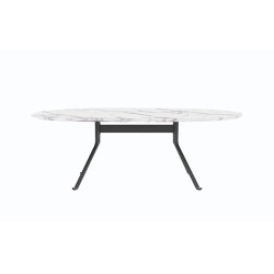 Blink Oval Dining Table - Stone Top | Esstische | Stellar Works