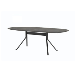 Blink Oval Dining Table - Wood Top | Esstische | Stellar Works