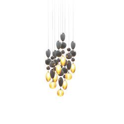 Nuage   Suspended lights   Concept verre