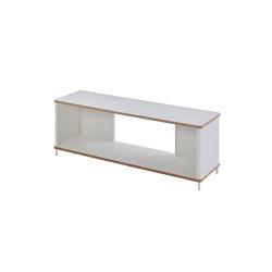 Pal shelf  laquered in 20 colours 120 cm width | Estantería | Müller small living