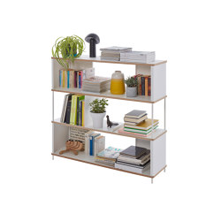 Pal shelf  laquered in 20 colours 120 cm width | Shelving | Müller small living