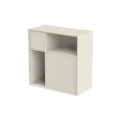 Vertiko cabinet furniture module lacquered in 20 colours   Cabinets   Müller small living