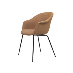 Bat Dining Chair - Fully Upholstered, Conic base | Chairs | GUBI
