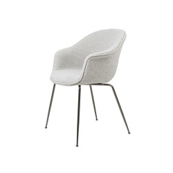 Bat Dining Chair - Fully Upholstered, Conic base | Stühle | GUBI