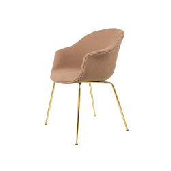 Bat Dining Chair - Fully Upholstered, Conic base | Sillas | GUBI