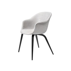 Bat Dining Chair - Fully Upholstered, Wood base | Chairs | GUBI