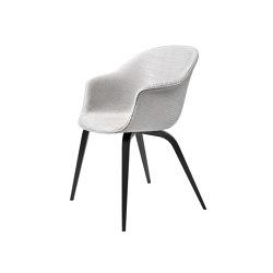 Bat Dining Chair - Fully Upholstered, Wood base | Sillas | GUBI
