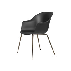 Bat Dining Chair - Un-ophulstered- Conic Base | Sillas | GUBI