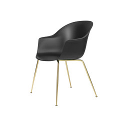 Bat Dining Chair - Un-ophulstered, Conic Base | Sillas | GUBI