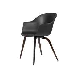 Bat Dining Chair - Un-Upholstered- Wood base | Chairs | GUBI