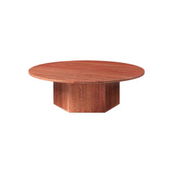 Epic Coffee Table (Large) - Burnt Red | Couchtische | GUBI