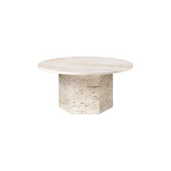 Epic Coffee Table (medium) - Natural White | Tables basses | GUBI