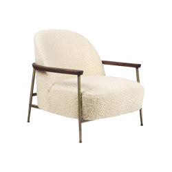 Sejour Lounge Chair with armrest | Sillones | GUBI