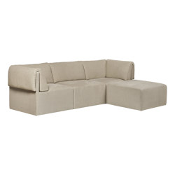 Wonder Sofa - 3-seater with Chaise Longue | Sofás | GUBI