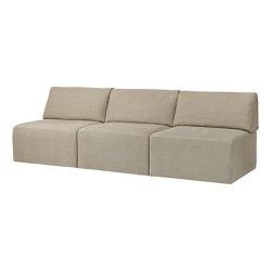 Wonder Sofa - 3-seater without armrest | Divani | GUBI