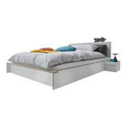Flai bed CPL white | Beds | Müller small living