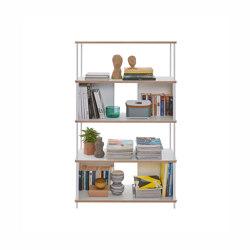 Pal shelf laquered in 20 colours90 cm width | Estantería | Müller small living