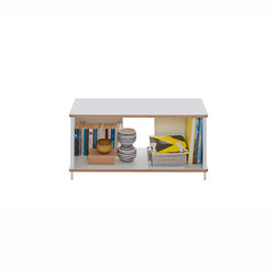Pal shelf laquered in 20 colours 90 cm width | Shelving | Müller small living
