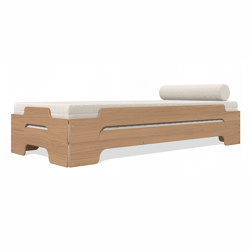 Stacking bed classic oak | Beds | Müller small living