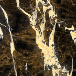 Marmo Nero | Black and Gold | Lastre pietra naturale | Mondo Marmo Design