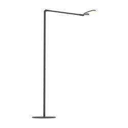 Splitty Floor Lamp, Matte Black | Standleuchten | Koncept