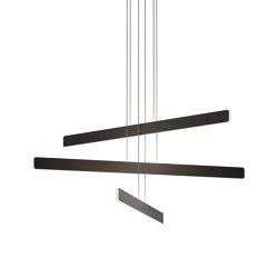 Sub Pendant Circular 3, Matte Black | Suspended lights | Koncept