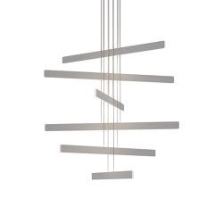 Sub Pendant Circular 6, Silver | Lampade sospensione | Koncept