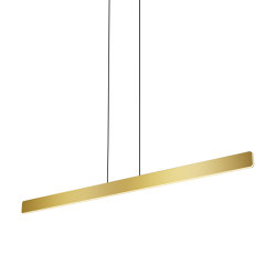 Sub Single Pendant, Gold | Lampade sospensione | Koncept