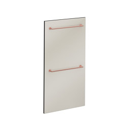 Voyage Heated Towel Rail | Towel rails | VitrA Bathrooms