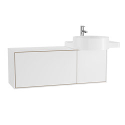 Voyage Washbasin Unit for Countertop Washbasin | Vanity units | VitrA Bathrooms