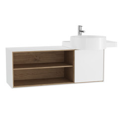 Voyage Washbasin Unit for Countertop Washbasin | Vanity units | VitrA Bathrooms